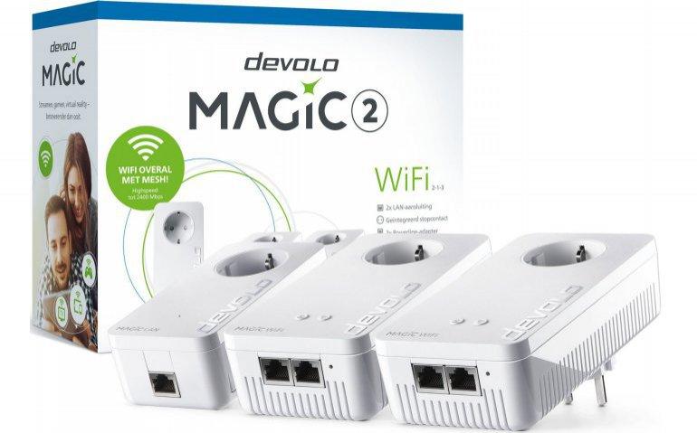 Getest in Totaal TV: Devolo Magic 2 WiFi set voor internet in heel het huis
