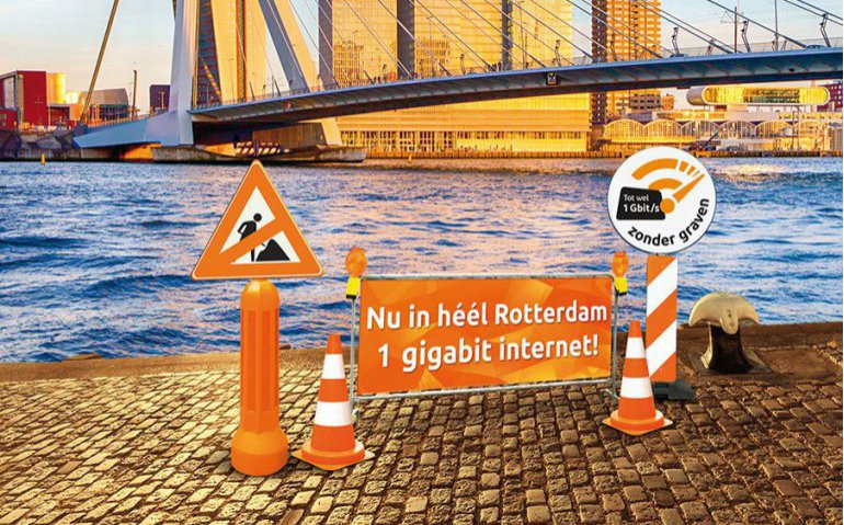 Ziggo Gigabit internet Rotterdam