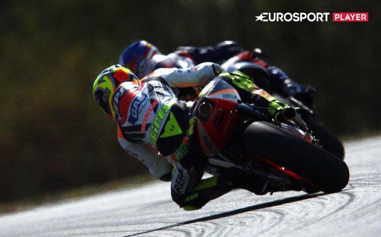 MotoGP meest uitgebreid op Eurosport Player