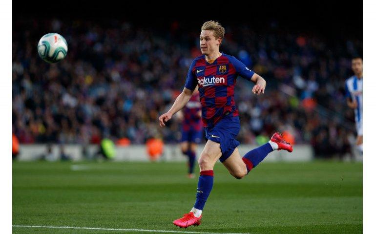 Frenkie de Jong FC Barcelona terug op Ziggo Sport