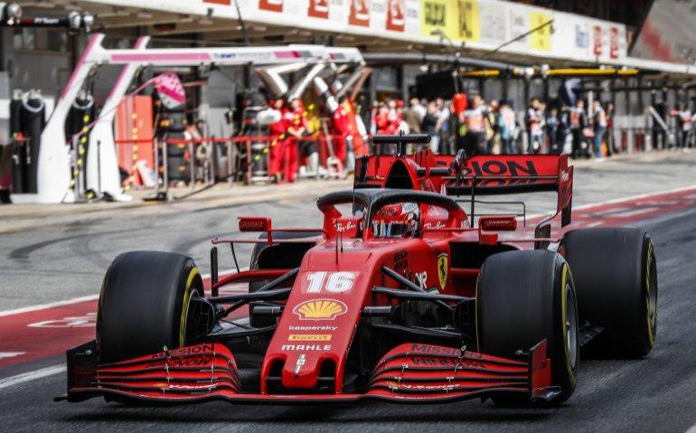 Ferrari op Red Bull Ring Formule 1 GP Oostenrijk