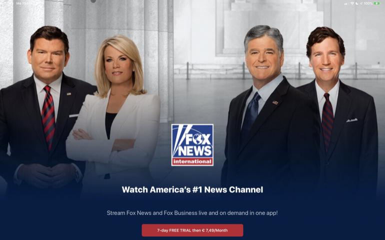 FOX News legaal in Nederland maar niet bij Ziggo en KPN