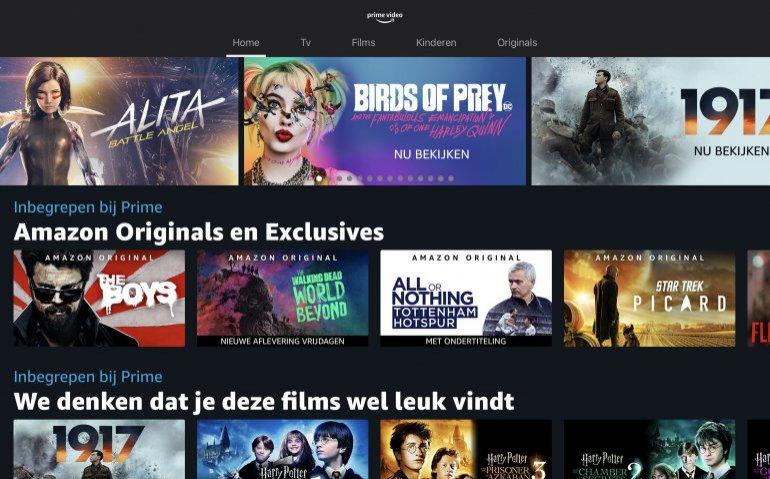 Amazon breidt uit met Prime Video Channels waaronder Film1