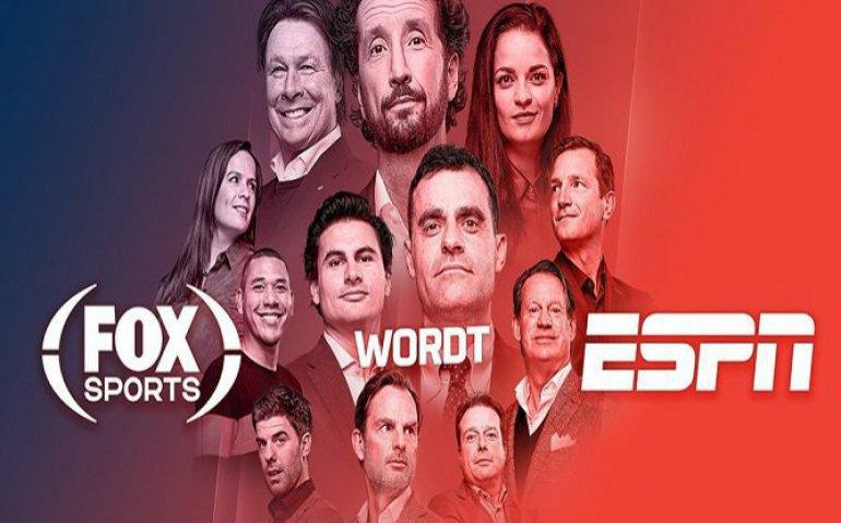 Fox Sports Wordt Espn Totaal Tv
