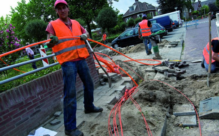 Glasvezel in 2026 in meer woningen dan kabelnetwerk Ziggo