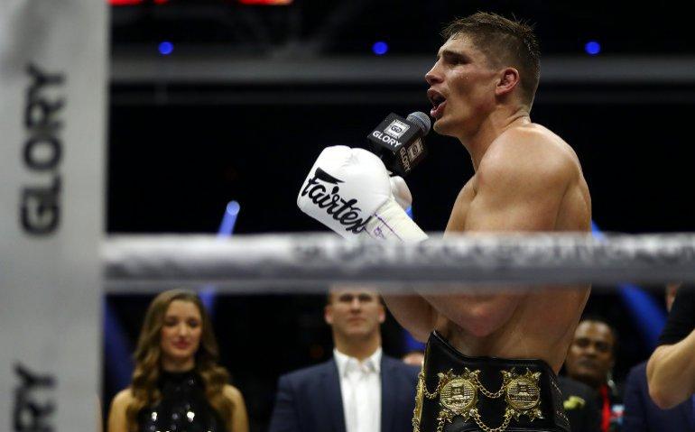 Kickboksen: GLORY titelstrijd Verhoeven – Ben Saddik gaat niet door