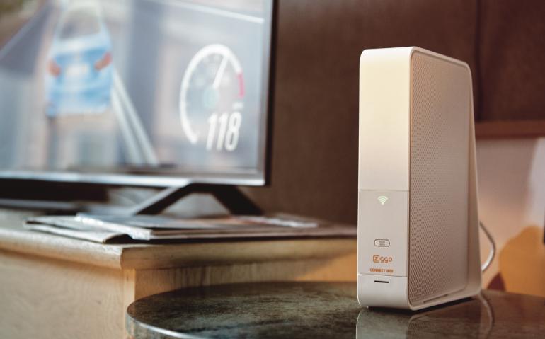 Ziggo verbetert internetmodem Connectbox