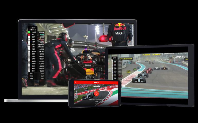 Formule 1 kijken zonder Ziggo Sport: F1 TV Pro ook op Android TV