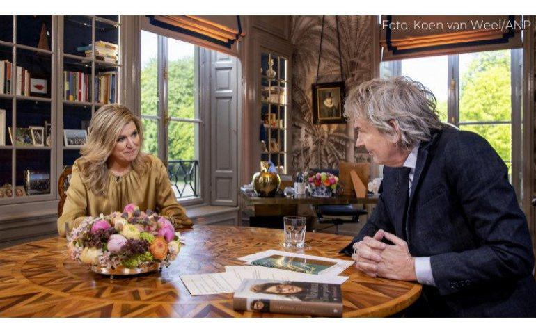 Koningin Máxima 50 jaar: NPO 1 zendt interview uit