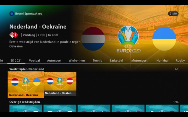 KPN kleurt Interactieve TV oranje
