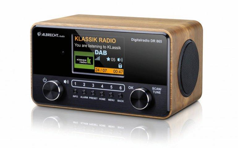 Albrecht DR-865: de ideale seniorenradio