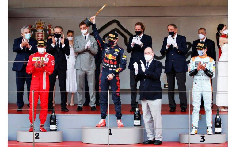 Ziggo Sport bereikt met winnende Max in Monaco 2,2 miljoen kijkers