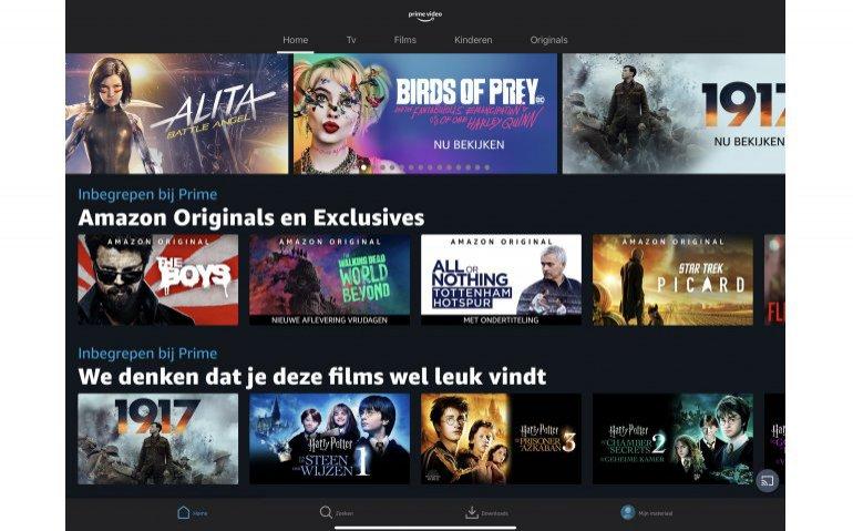 Film1 Action ook via streamingdienst Amazon Prime Video