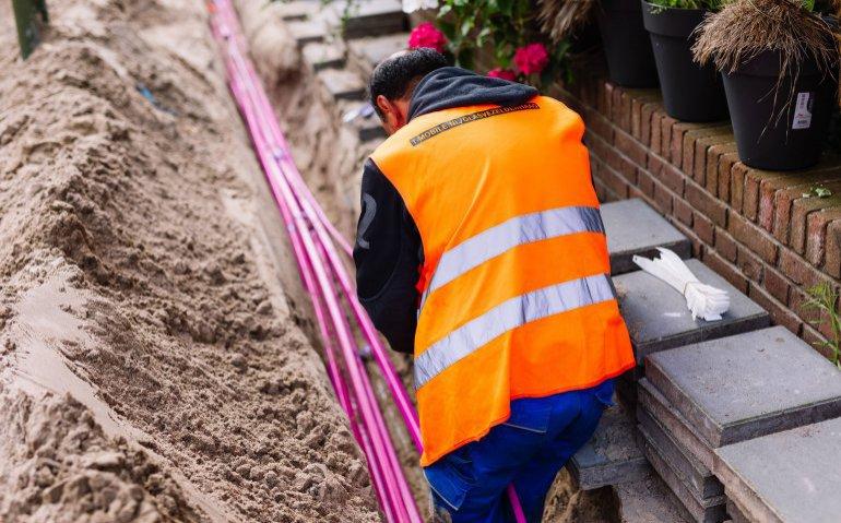 Ziggo in Zoetermeer onder druk: T-Mobile begint aanleg glasvezel