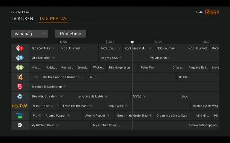 Ziggo breidt tv-product uit