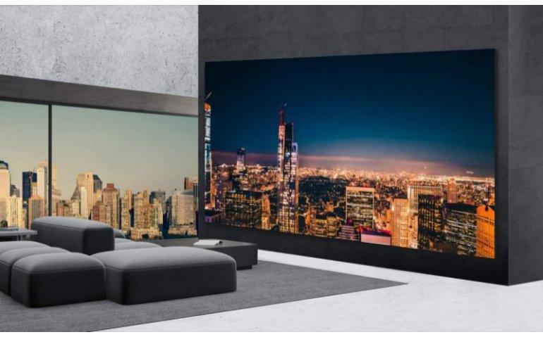 Gekker dan gek: LG brengt 325 inch televisie op de markt