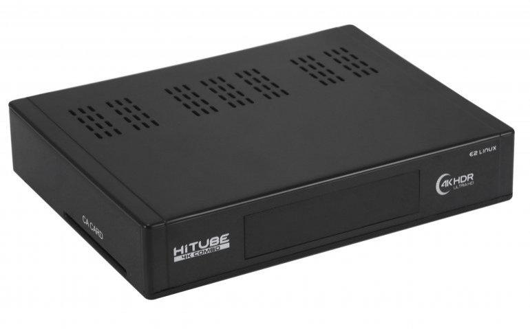 Getest in Totaal TV: de hybride zapper HiTube 4K Combo Pro
