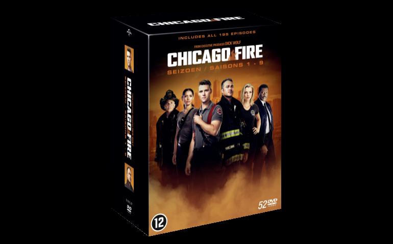 Win de boxset Chicago Fire S1-9