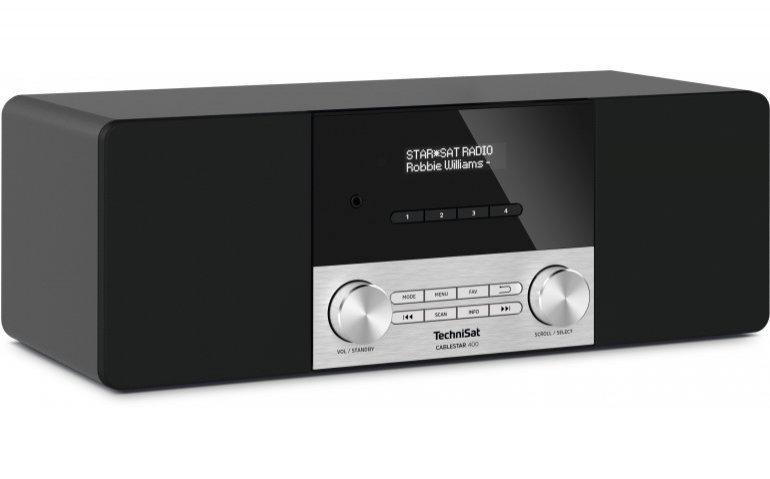 Getest in Totaal TV: digitale kabelradio TechniSat Cablestar 400
