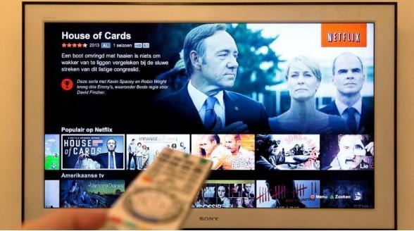 Aanbod Netflix Nederland en Amerika binnen drie jaar gelijk