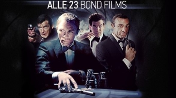 James Bond-films in HD bij Videoland