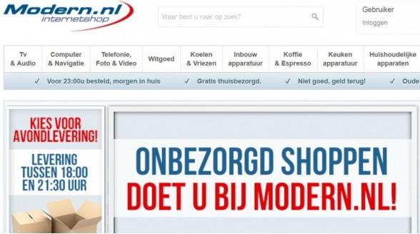 Toekomst webshop Modern.nl somber na faillissement