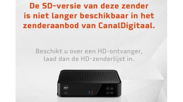 CanalDigitaal stopt met SD-doorgifte SBS6 en RTL 4