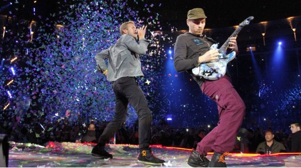 Concert Coldplay op NPO 3FM
