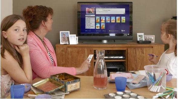 Eenderde KPN-klanten kijkt Interactieve TV via glasvezel