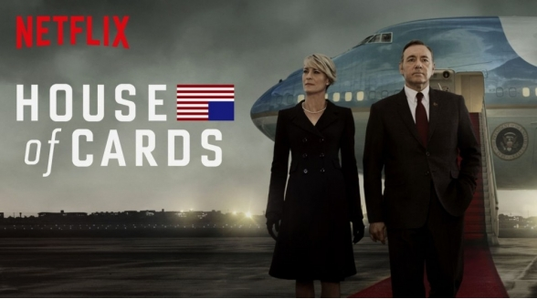 Derde seizoen House of Cards nu op Netflix