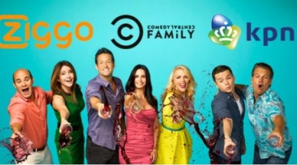 Drie maanden gratis Comedy Central Family bij Ziggo en KPN