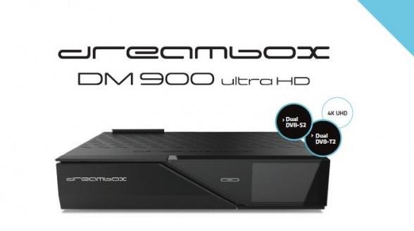 Eerste levensteken Dreambox Ultra HD-ontvanger