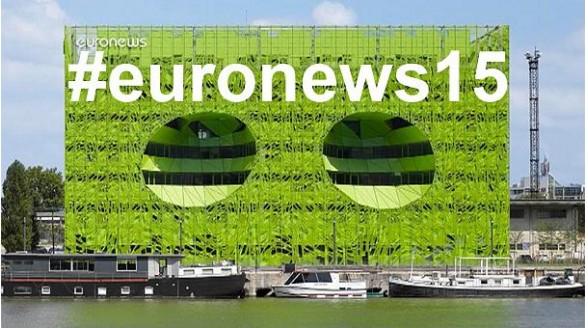 Euronews neemt nieuw futuristisch hoofdkwartier in gebruik