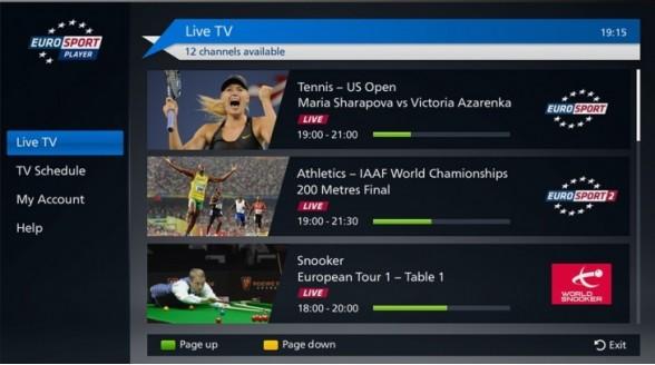 Eurosport toont 15 wedstrijden Roland Garros tegelijkertijd