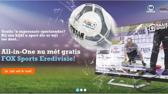Fiber biedt klanten jaar gratis FOX Sports Eredivisie