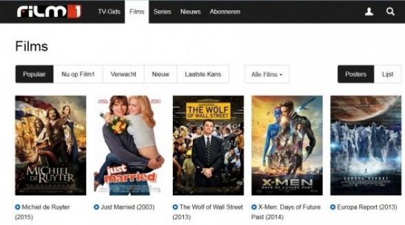 Film1 wijzigt webomgeving Film1 GO