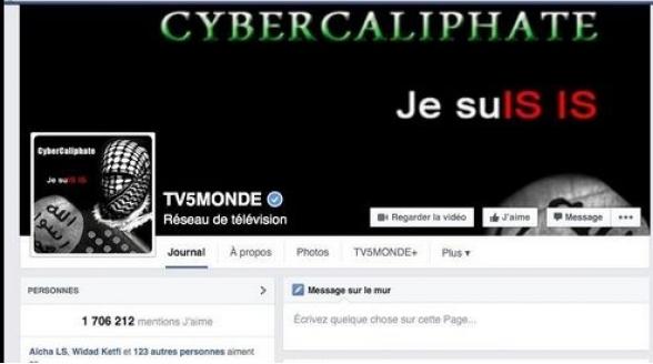 Franse TV5 Monde uit de lucht, website gehackt door IS