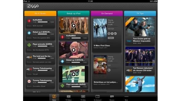 Getest: de nieuwe Ziggo TV-app