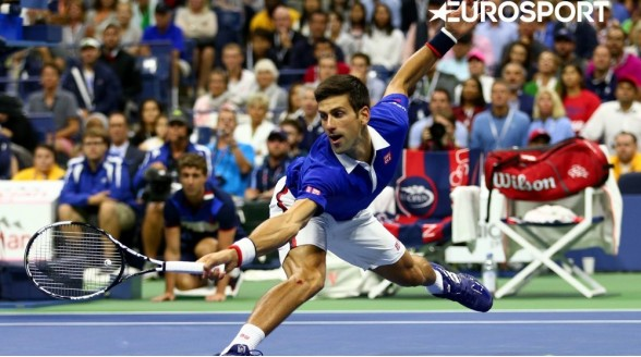Grand Slam US Open via Eurosport