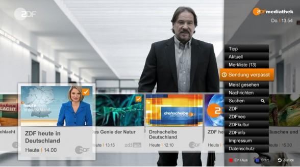 HbbTV-uitbreiding bij ZDF