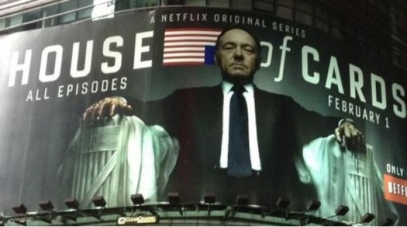 House of Cards door fout Netflix eerder online