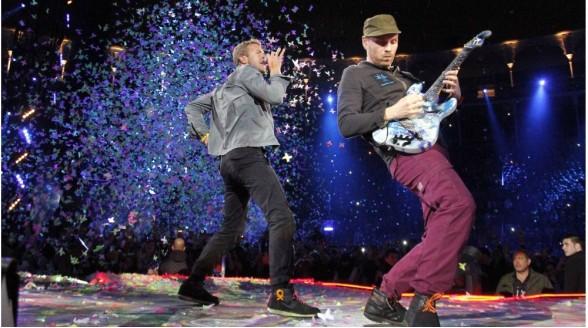 Humberto Tan ontvangt Coldplay in RTL Late Night