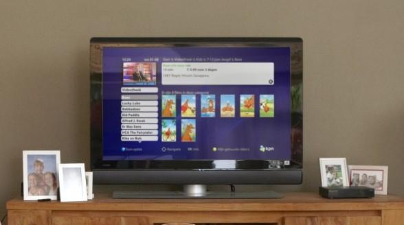 Interactieve TV van KPN blijft succes