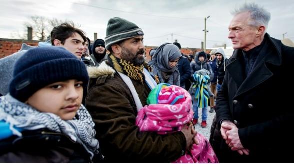 Internationale tv-zender vluchtelingen op Astra1-satelliet