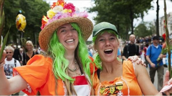Intocht vierdaagse Nijmegen elf uur lang live op NPO 2