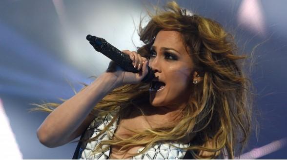 Jennifer Lopez live op FOX