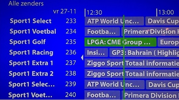 KPN noemt Ziggo Sport Totaal nog altijd Sport1