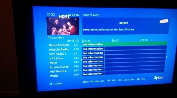 KPN breidt radio-aanbod Interactieve TV uit