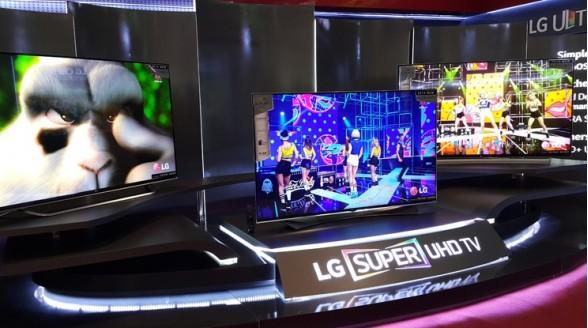 LG komt met Super Ultra HD-televisie