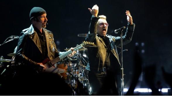 Live-concert U2 niet op Nederlandse HBO